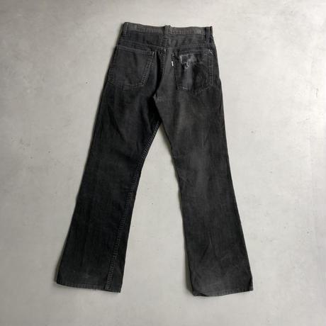 70s Levi's 517 Black Corduroy