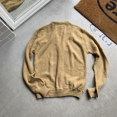 80s~ acryl cardigan BEG