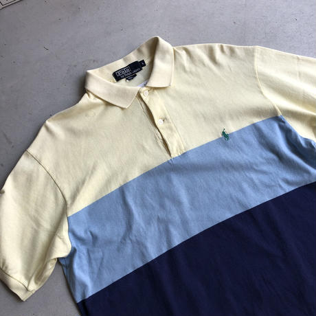 Polo by Ralph Lauren 3 Tones S/S Polo Shirt