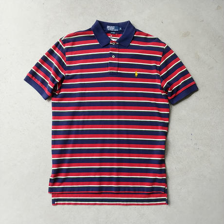 Polo by Ralph Lauren Border S/S Polo Shirt RED