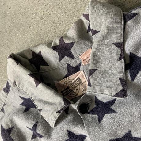 Bon home Star pattern shirt GRY