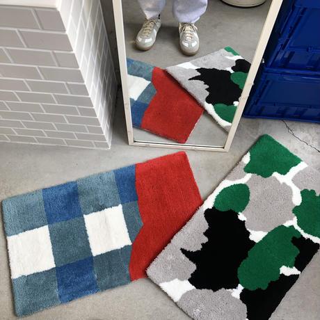 ciatre check rug square