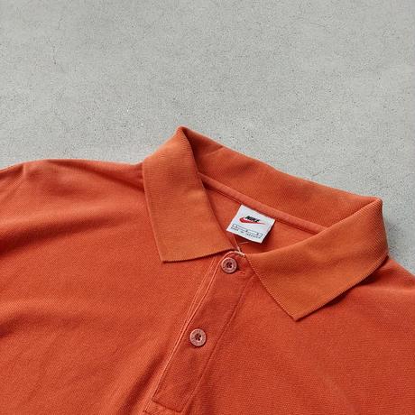 90s NIKE S/S Polo Shirt ORG