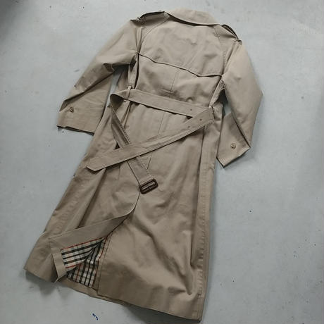 DAKS Trench Coat Drakkar Cloth