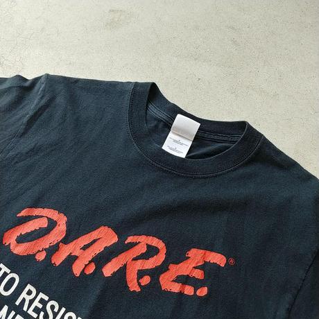 90s~ D.A.R.E. S/S Tee BLK