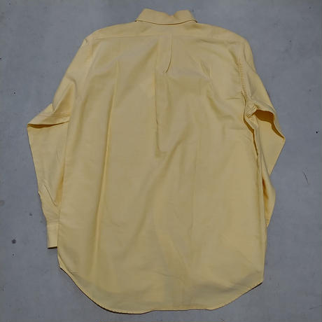 ~90s Brooks Brothers L/S Shirt YLW