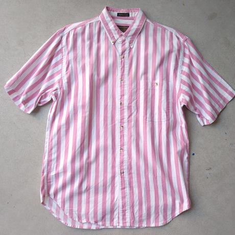 80s Eddie Bauer S/S Stripe Shirt