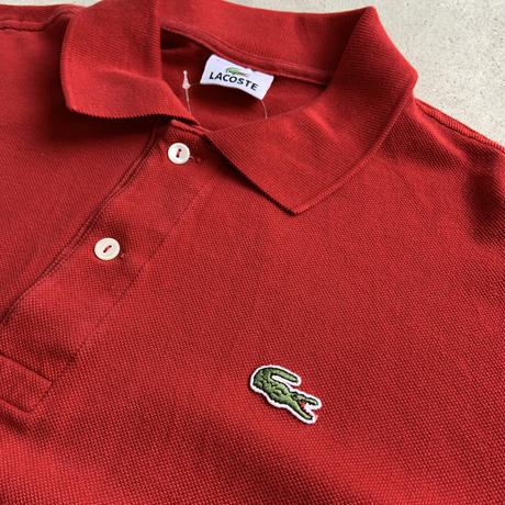 old lacoste poloRED