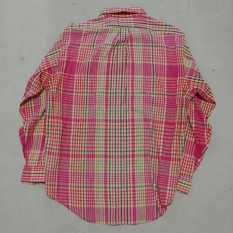 90s POLO COUNTRY L/S Check Shirt