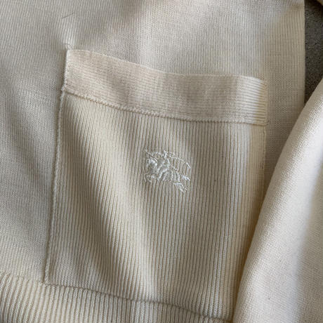 Old Burberry Knit cardigan BEG