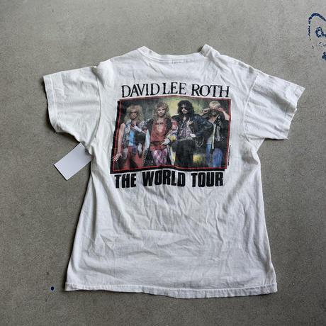 80s David lee roth Band tee WHT