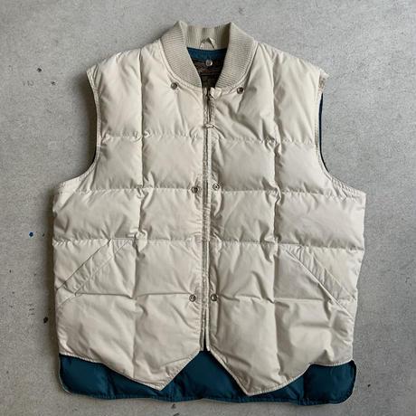 80s~ Eddie Bauer Down Vest IVR