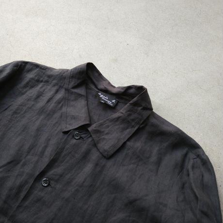 90s agnes b. homme L/S Linen Shirt