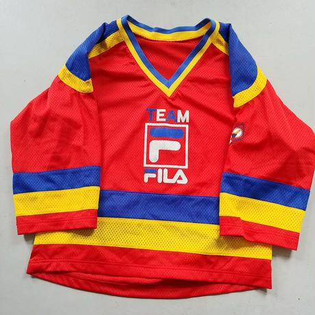90s FILA S/S Mesh Game Shirt