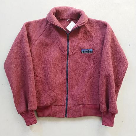 80s Patagonia Zip Up Pile Jacket BGD