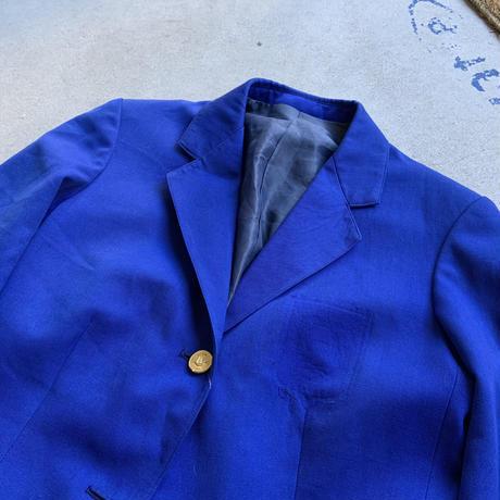 vintage school jacket BLU