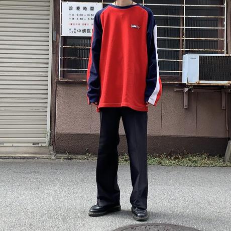 90s tommy logo fleece RED