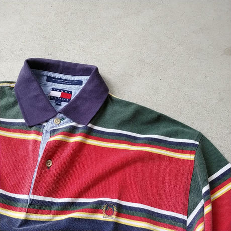 90s TOMMY HILFIGER S/S Polo Shirt