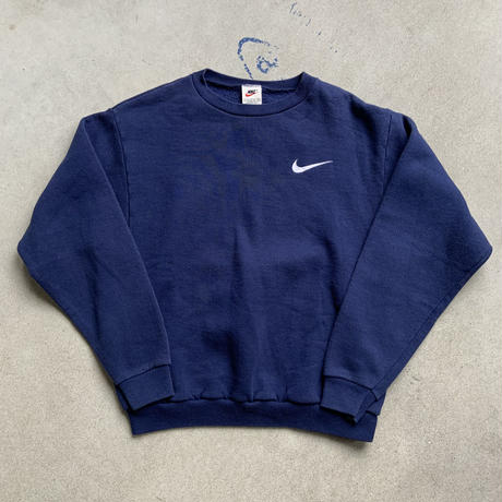 90s NIKE sweat shirt NVY