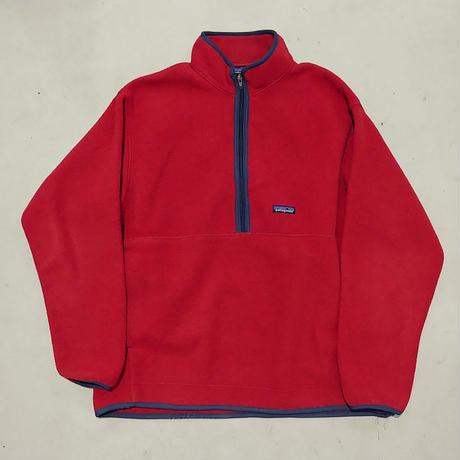 90s Patagonia SYNCHILLA Fleece Pullover RED