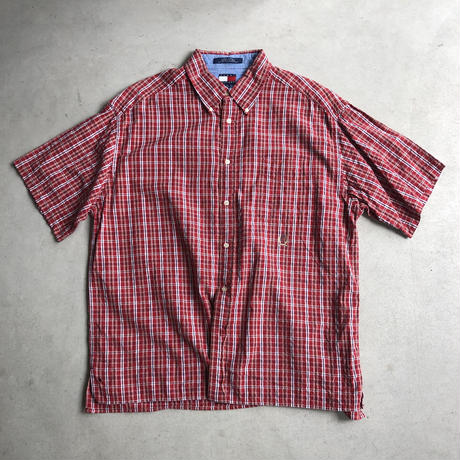90s TOMMY HILFIGER Check S/S Shirt