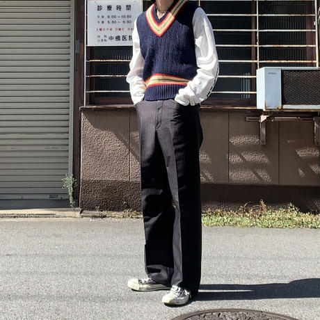 polo ralph lauren wool knit vest NVY