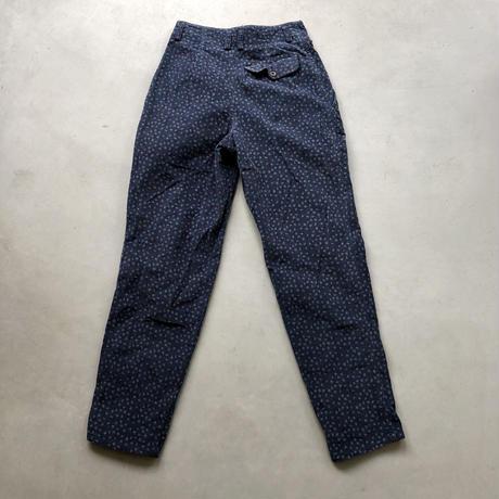 90s Lizwear Flower Print Corduroy Pants