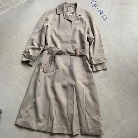 80s~ Aquascutum Bal Coat BEG