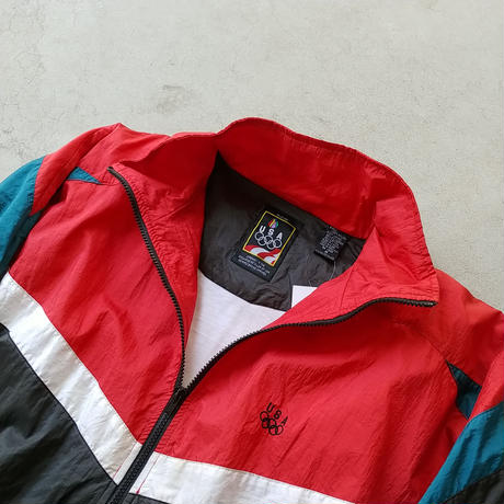 80s JC Penney Nylon Blouson USA Olympic