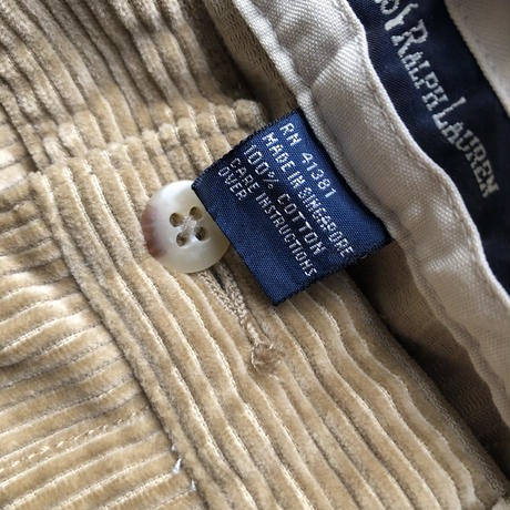 Polo by Ralph Lauren Corduroy Pants BEG