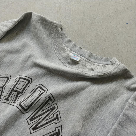 80s Champion Reverse Weave Sweat Pullover GRY