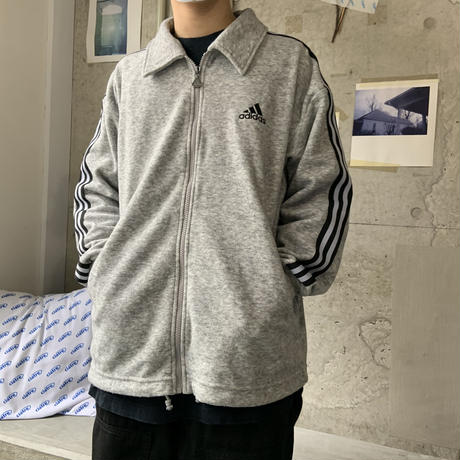 adidas zip jacket GRY