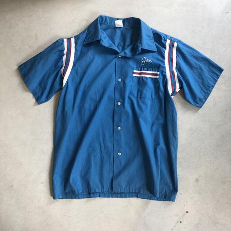 Vintage Bowling Shirt Blue