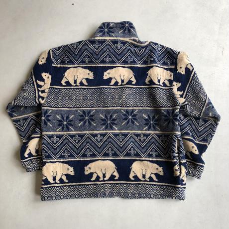 Canada Made TEEPEE Zip-Up Fleece Jacket