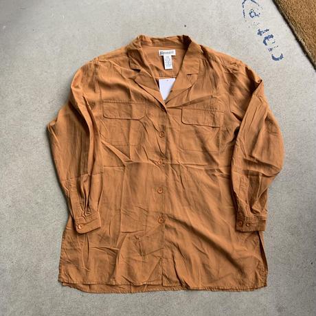 90s christie&jill silk shirt ORG
