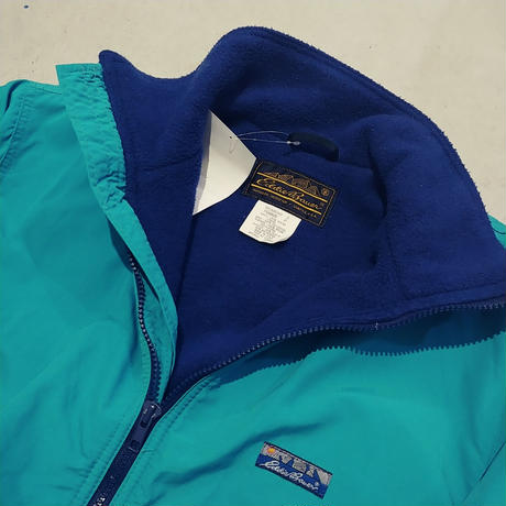 ~90s Eddie Bauer Fleece Shell Jacket