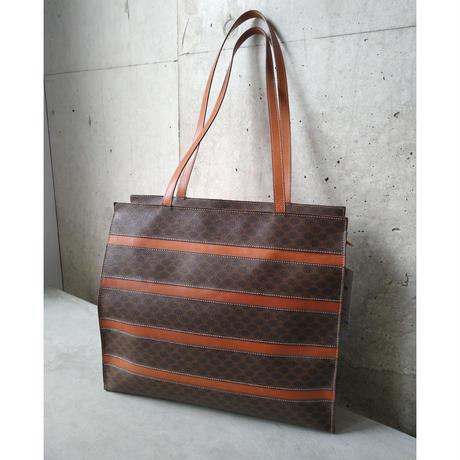 Old CELINE Leather Shoulder Bag
