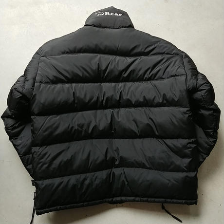 90s Bear Reversible Down Jacket BLK