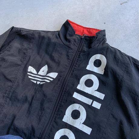 ~90s adidas logo nylon jk