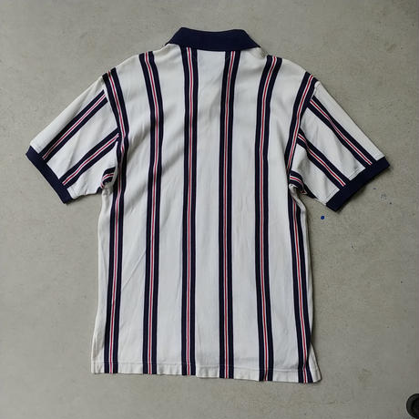 90s TOMMY HILFIGER Stripe S/S Polo Shirt