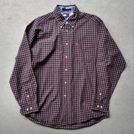 90s TOMMY HILFIGER L/S Check Shirt