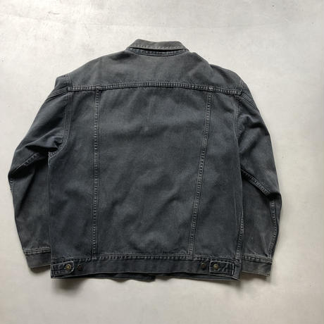 90s STEFANO MAN Black Denim Jacket