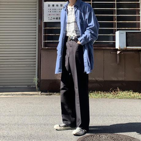 orvis cotton shirt BLU