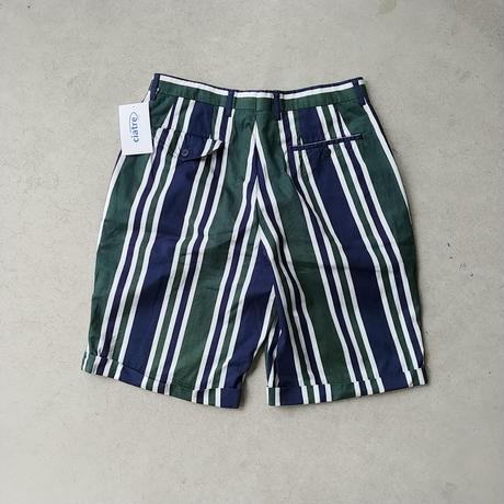 LACOSTE Stripe Shorts GRN