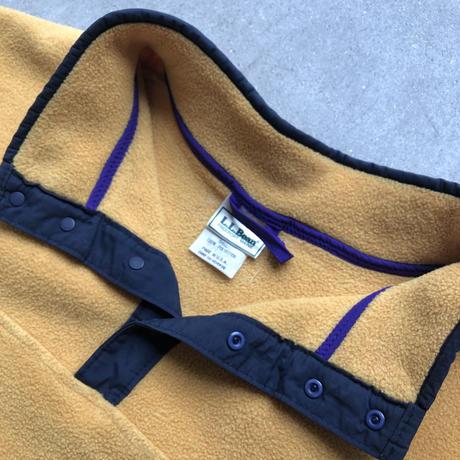 L.L.Bean Fleece Pullover Jacket YEL