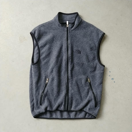 ~90s THE NORTH FACE Fleece Vest GRY