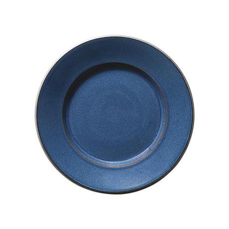 スパダ スカンジナビアンブルー 19cmプレート    寸法:18.8φ×2.6H㎝