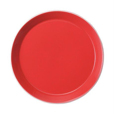 パシオン ロッサ 23cmプレート    寸法:23.3φ×2.7H㎝