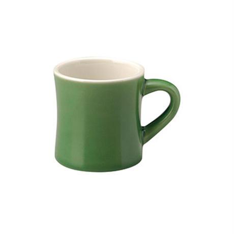 カントリーサイド ジェイド ダイナーマグカップ    寸法:12.2×8.8×9.3H㎝ 345cc