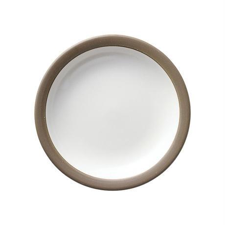ハーベスト モーニングホワイト 17.5cmパン皿    寸法:17.5φ×2.5H㎝